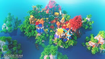 Pokemon Land Minecraft Map & Project