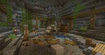 Chapter 4: Caves + Trials Minecraft Map & Project