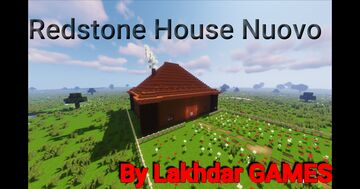 Redstone House Nuovo بيت رديستون مطور Minecraft Map & Project