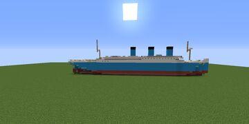 R.M.S EYUPTANNIC Mini Model (fictional ship) Minecraft Map & Project