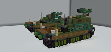 FV4010 (Early and Late Variants) Minecraft Map & Project
