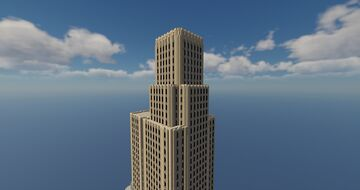 QuantumLink Center Tower Minecraft Map & Project