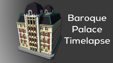 Baroque House / Palace Minecraft Map & Project