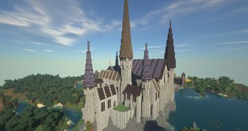 The City of Paxkirk Minecraft Map & Project