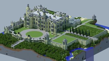 HillHouse (Harlaxton Manor) Minecraft Map & Project