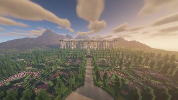 A Palace in the Mountains [Free Download] Minecraft Map & Project