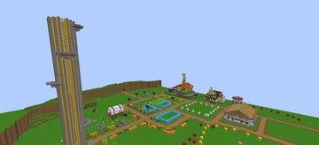 Hateno Village (Nothing like the game) Minecraft Map & Project