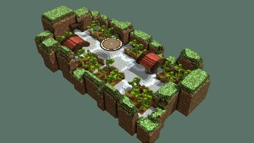Sunflower pvp Minecraft Map & Project