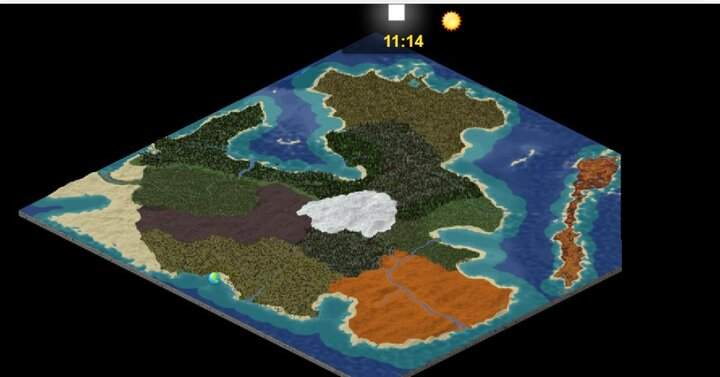 A Dynmap Surface View