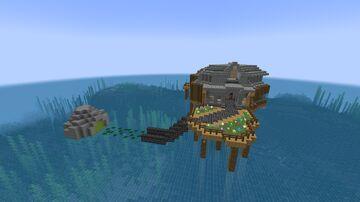 Origin Of Sunshine Beach House Minecraft Map & Project