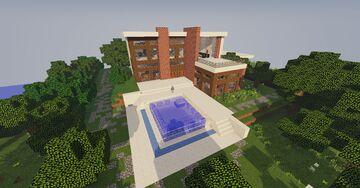 Hogar minimalista / Minimalist home Minecraft Map & Project