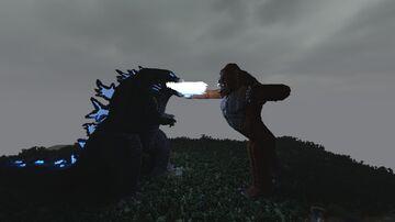 Godzilla x Kong [1.16.2 - 1.17] [Download + Timelapse] Minecraft Map & Project