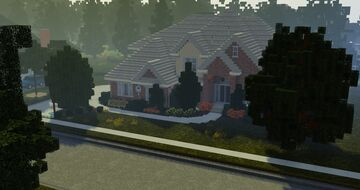 1:5:1 Scale Realistic McMansion Minecraft Map & Project