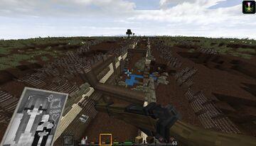 WW1 en Minecraft. Mapa para hacer Raids en una trinchera Minecraft Map & Project