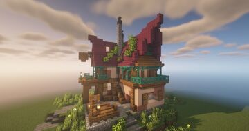 Tavern, The Settlers Online inspiration by QbaQ Minecraft Map & Project