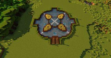 Underground base PRO Minecraft Map & Project
