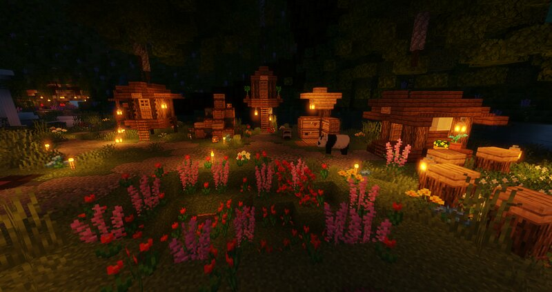 The spawn at Night!