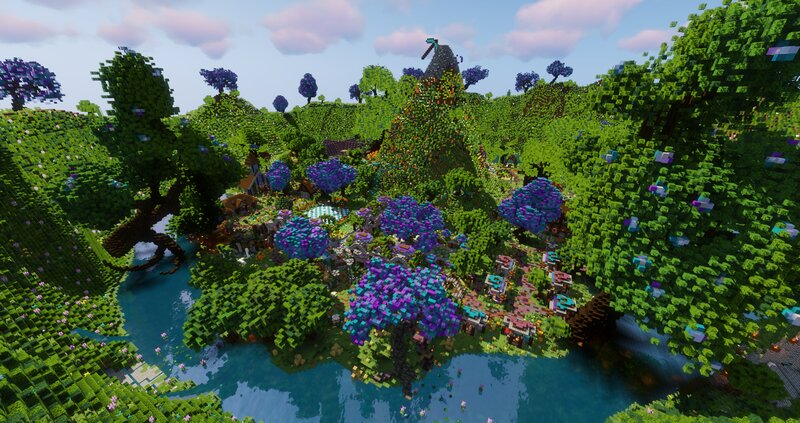 Lookout view over the Spawn!
