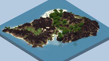 Chaice - 1k x 1k Custom Island Terrain (FREE DOWNLOAD) Minecraft Map & Project