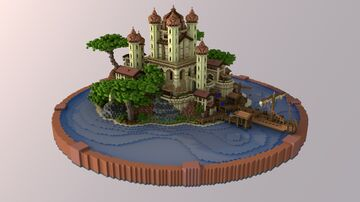 OasisPort Hub | 1.8+ Minecraft Map & Project