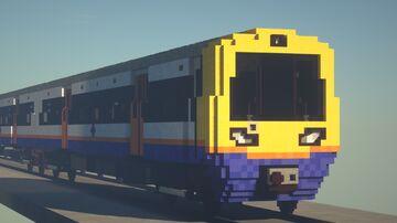 British Rail Class 378 (London Overground) Minecraft Map & Project
