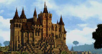 Castle Vellemont (Conquest reforged) Minecraft Map & Project