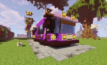 Purple RV Showcase Minecraft Map & Project