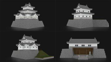 Shibata Castle - 新発田城 [Download] Minecraft Map & Project