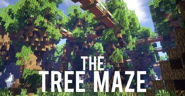 Tree Maze [MazeMaker] Minecraft Map & Project