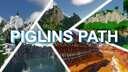 Piglin's Path - Custom Terrain Survival Map 5000 x 5000 Minecraft Map & Project