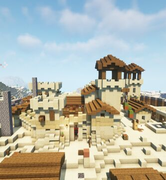 sand village Minecraft Map & Project