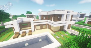 Modern NLC Cubus House #12 - NewLycantropiaCity build by ArcturusPhoenix Minecraft Map & Project