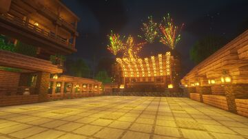 Rhelic Forest Festival Minecraft Map & Project
