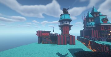 Air Station. Minecraft Map & Project