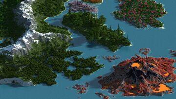 Multibiome world - 4000x4000 WorldPainter Minecraft Map & Project