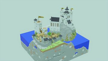 Castle Stonehart Preview Minecraft Map & Project