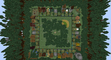 Lord of the Lands (Monopoly) | 1.16.5 | 2-8 players | Realms map Minecraft Map & Project