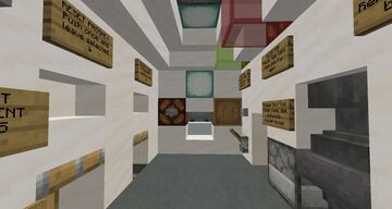 Minecraft Redstone Bank with 2-Step Verification Minecraft Map & Project