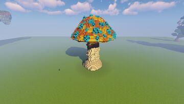 Giant Mushroom - Vermillion Amanita Minecraft Map & Project