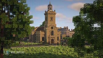 The church of St Peter and St Paul, The Mall, Whiteburg City Minecraft Map & Project