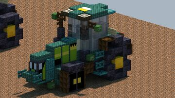 John Deere 8R 370 Tractor [With Dowload] Minecraft Map & Project
