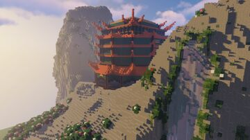 """""""Temple"""" Elytra Map Minecraft Map & Project"""
