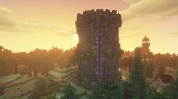 Deepslate Tower Minecraft Map & Project