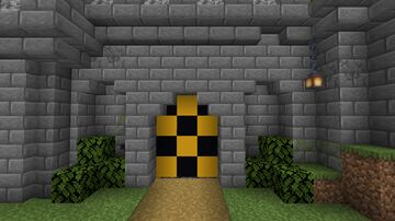 Underground Emergency Fall out Shelter Minecraft Map & Project