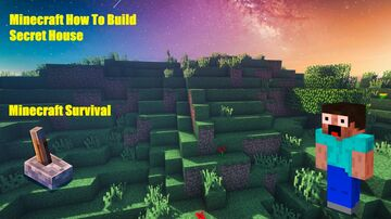 Secret House - Tutorial Minecraft Minecraft Map & Project