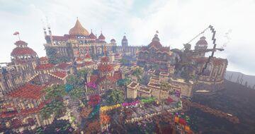 Adharra - Dark Elves Desert City - Fables and Fantasy Minecraft Map & Project