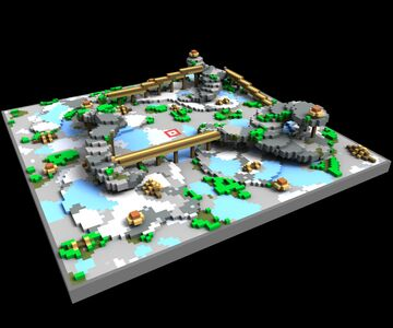 Mossy Crystal Cave KOTH [100x100] Minecraft Map & Project