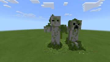 Zombie Statue Minecraft Map & Project