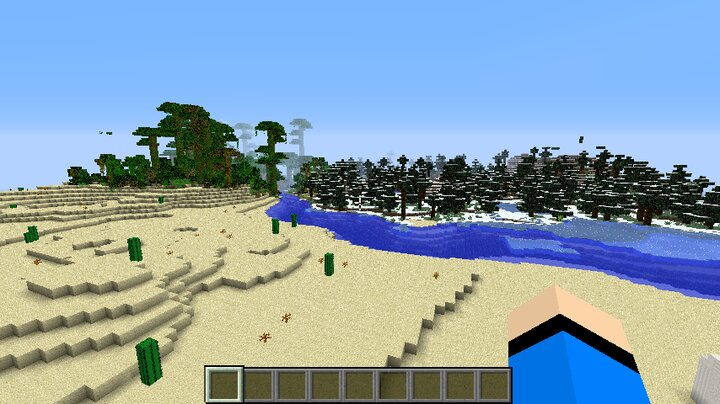 View Of The Biomes Surrounding The Lab.