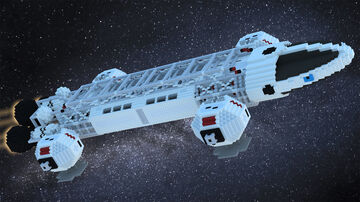 Eagle Transporter Minecraft Map & Project